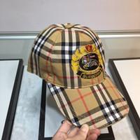boné de beisebol personalidade venda por atacado-2019 chapéus de beisebol das mulheres nova moda design original e personalidade marca de qualidade com caixa