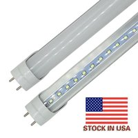 ingrosso 4ft ha condotto le lampadine-Stock in US + 4ft 1200mm T8 Led Tube Light High Super Bright 18W 20W 22W Lampadine fluorescenti principali bianche fredde calde AC110-240V FCC