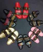Wholesale bling pu slipper resale online - Summer Woman man Sandals Shoes Women Pumps Platform Wedges Heel Fashion Casual Loop Bling Star Thick Sole Women Shoes