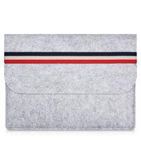 чехлы для ноутбуков оптовых-MacBook Air Woolfelt Защитный чехол для Apple Macbook Air Pro Retina 11 13 дюймов, сумка для ноутбука сумки для Mac 11,6 13,3 дюйма