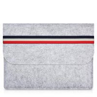 Wholesale leather macbook pro 15 cases for sale - Group buy macbook air Woolfelt Protective Cover Case for Apple Macbook Air Pro Retina Inch laptop sleeve bags for mac inch