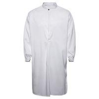 moda casual islamica al por mayor-MUQGEW 2019 camisas de vestir de moda para hombres de otoño de los hombres ocasionales musulmanes Thobe árabe islámico ropa camisa de manga larga Top # G4