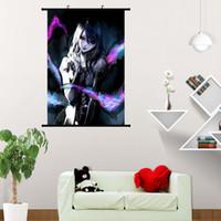 cartel japon al por mayor-Tokyo Ghoul Manga Series Japan Anime Hot Art Poster Silk Light Canvas Painting Print Home Decor Wall Picture