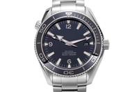 james glass venda por atacado-New Stylish Auto Sea 300 Spectre Edição Limitada dos homens Relógio de Pulso Cor Tecido Cinto de Vidro Cronômetro James Bond Spectre Relógio Masculino