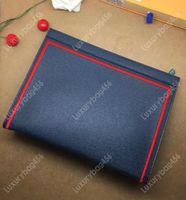 einzigartige kosmetik großhandel-Top wasserdichte Leinwand Brieftasche Lederhandtasche Star mit der gleichen Handtasche Kosmetiktasche Einzigartiges Design M63397