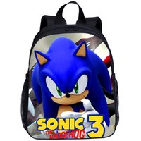 Wholesale baby boom for sale - Group buy Sonic Boom Hedgehogs School Bag Lovely Satchel Children School Backpack Kid Mochilas Escolares Infantis Baby Boy Girl Travel Bag