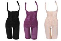 ingrosso corpo sculpting per le donne-Sottile di nylon di alta qualità da donna dimagrante abiti dimagrante per il corpo intimo di scolpitura a carboncino biancheria intima dimagrante 5 dimensioni