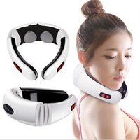 Wholesale health care for sale - Group buy Multifunction Cervical Massager Neck Physiotherapy Massage Electromagnetic Shock Pulse Cervical Physical Therapy Massage Health care FFA1881