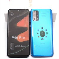 Wholesale 4g chinese cell phone resale online - Unlocked Goophone P40 Pro quot Android Quad Camera Show GB GB Show G HD Camera G WCDMA Cell Phones