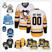 ingrosso hockey personalizzato-Personalizzato Uomini Donne Giovani Pittsburgh Sidney Crosby Evgeni Malkin Kris Letang Matt Murray Jake Guentzel Pinguini Magliette da hockey
