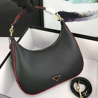 Wholesale dot lock for sale - Group buy Pink Sugao luxury purses designer handbags women brand shoulder bag moon shape handbag new fashion tote bags high quality cow leather