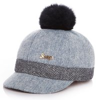 Wholesale woolen ball for sale - 2019 New Arrival Hot Sale cm cm Child Woolen Winter Cap Hat With Ball On Top quality High cost performance