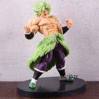 Wholesale Anime Dragon Ball Styling Super Saiyan Broly Figure Full Power Dragon Ball Broly Action Figure PVC Collectible Model Toy SH190915
