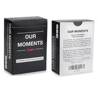 Wholesale trading card resale online - Our Moments Couples Conversation Starters For Great Relationships Fun Cards Game Adult Board Game Card Truth or Dare