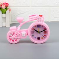 Wholesale kids plastic needles for sale - Group buy Creative Bicycle Model Alarm Clock Kids Gift Bedside Mini Bike Model Craft Creative Alarm Clock Home Decoration Alarm Clock BH2373 TQQ