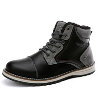 Wholesale british army boots for sale - Group buy Outdoor Autumn Winter New British Fashion Work Boots Men s Soft Army Boots Wear Resistant Non Slip Warm Tooling Safety