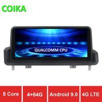 12 pantalla táctil al por mayor-9.0 Sistema COIKA 8 Core Android jugador de la pantalla de coche para E90 E91 E92 05-12 GPS Navi estéreo WIFI 4G Google 4 + 64G RAM IPS táctil