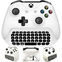 Wholesale headset elite for sale - Group buy AAAE Top For Xbox One S Chatpad Mini Gaming Keyboard Wireless Chat Message KeyPad with Audio Headset Jack for Xbox One Elite