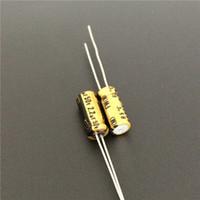 condensateurs électrolytiques nichicon achat en gros de-10pcs / 100pcs 2.20uF 50V NICHICON FW Série 5x11mm 50V2.2uF Audio Condensateur électrolytique en aluminium