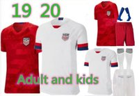 top jerseys usa al por mayor-De calidad superior 2019 Copa de oro PULISIC kids Soccer Jersey kits completos 19 20 BRADLEY ALTIDORE DEMPSEY Camisetas de fútbol camiseta de fútbol para adultos de EE. UU.