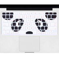 macbook pro decalques venda por atacado-Novo silicone dos desenhos animados animais decalque protetor de capa de teclado para macbook air pro 13 15 tampa do protetor