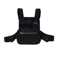 Wholesale mini outdoor climbing bag resale online - 2019 Mini Men Chest Rig Streetwear Outdoor Sports Waist Bag Climbing Shoulder Bag Phone Money Belt Tactical Chest
