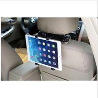 halter wiege für ipad großhandel-Details über Universalhalter Auto Kopfstütze Sitz Cradle 360 drehbare Halterung für iPad Tablet PC