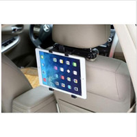 ingrosso supporto supporto per ipad-Dettagli circa supporto universale per auto poggiatesta sedile culla 360 girevole per iPad Tablet PC