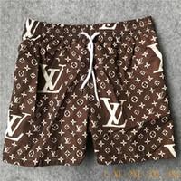 yeni pantolon desenli erkekler toptan satış-Yeni Kurulu Tasarımcı Şort Erkek Yaz Plaj Şort Pantolon Yüksek Kaliteli Mayo California Sörf Erkekler Yüzmek Mektup Desen Şort