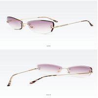 Wholesale bamboo shoots for sale - Group buy Street shooting wild glasses Titanium Bamboo Frame Eyeglasses Rimless Men Gold Wood Glasses Frame Prescription Myopic Glasses Ti Anti cTyQk