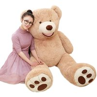 Wholesale popular toys for kids resale online - 1pc cm High Quality Plush Toy Stuffed Teddy Bear American Bear Popular Gift Classical Toy For Kid