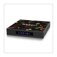 4k ultra hd tv großhandel-H96 Android 7.1 TV-Box 4G + 64GB Maximaler 4K-Bildschirm RK3328 UHD-Quad-Core-WLAN-Ultra-HD-H.265 Hohe Konfiguration