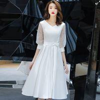 Robe De Mariee Chinoise Cheongsam Blanche Distributeurs En