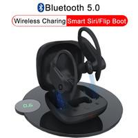 bluetooth kulak kancalı kulaklıklar toptan satış-B10 Gerçek Kablosuz Bluetooth 5.0 Kulaklık Spor Kulak Kancası kulaklıklar Waterprof Kulaklıklar Kablosuz Şarj stereo Kulaklık Asılı k ...