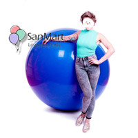 Wholesale giant balloons for weddings resale online - 6ft Inch Clear Climb in Latex Balloon cm g Giant Balloons for Talent Show Wedding Birthday Party Decorations Festivals SH190913
