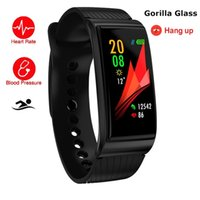 Wholesale bp cameras for sale - Group buy F4 Touch Wearable Color Smart Watch Swim Fitness Smart Bracelet Continuous Heart Rate Monitor BP Health For IOS And Android
