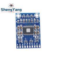 bateria do medidor elétrico venda por atacado-DC 12 V-24 V 2x50 W Dual Channel Mini Classe D Digital 50 W + 50 W TPA3116D2 XH-M562 50 W Placa de Potência