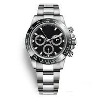 автоматический ободок оптовых-мода часы мужчины из нержавеющей стали случайные керамические безель часы Оптовая авто дата мужчины платье часы горячая продажа мужские часы подарок Reloj дата