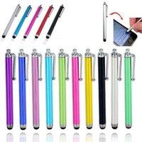 yo bolígrafos al por mayor-Stylus Pen Pantalla táctil capacitiva para el teléfono móvil Universal Tablet i iPad, teléfono celular, iPhone 5 5S 6 6plus