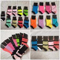 Fashion Unisex Socks Short Socks Adult Ankle Sock Cheerleader Socks Multicolors Good Quality Cotton with Tags