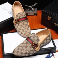 marcas de zapatos de hombre al por mayor-Iduzi Diseñadores Marca Zapatos de Vestir Plataforma Oxfords Hombres Hecho A Mano Personalizado Slip On Genuine Leather Business Shoes Tamaño 38-44