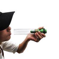 borular için atomizör toptan satış-195 * 34mm tatarium çelik E-sigara kuru brülör Baca tedavi tütün atomizer metal Sigara Borular Tutucu Taşınabilir tabacco herb Boru ...