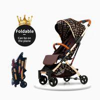 ingrosso promozioni per bambini-8 regali gratuiti nuovo colore babyfond 2019 sulla promozione 170 gradi regolabile passeggino 5.8 kg uso neonato può imbarcare direttamente