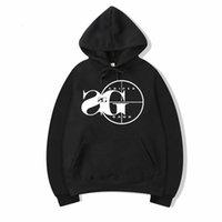 gang hip hop toptan satış-Vsenfo Sniper Gang Kapşonlu Sweatshirt Kodak Siyah RAP Hip Hop Unisex Hoodie Versiyon Sokak Kazak Kapüşonlular Erkekler Kadınlar Soğuk