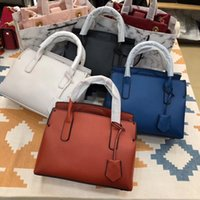 Wholesale ladies orange fashion handbags for sale - famous brand Designer fashion women luxury bags lady PU leather handbags brand bags purse shoulder tote Bag female