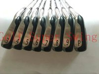 eisen golf mb großhandel-Golfschläger Heißer Verkauf 8 STÜCKE T-MB 718 Golfeisen 718 T-MB Clubs Golf 3-9 P Regelmäßige / Steife Graphit / Stahl Wellen DHL Freies Shippin