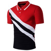 знаменитый бренд одежды оптовых-ZOGAA men  shirt famous  men clothes 2018 Fashion stitching  shirt Plus size S-XXXL