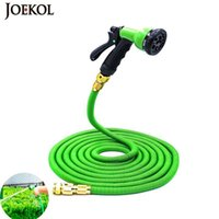 Wholesale watering hoses for sale - Group buy 2019NEW Ft Ft US Eu Garden Expandable Hose Magic Flexible Water Hose Plastic Hoses Pipe With Spray Gun To Watering Car Wash Y200106