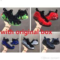 kd basketbol ayakkabıları satışı toptan satış-Ucuz yeni Erkek Penny Hardaway köpük posites hava basketbol ayakkabı satılık retro lebron 17 satılık hava lebrons james 12 KD 11 sneakers çizmeler boyutu 7-13