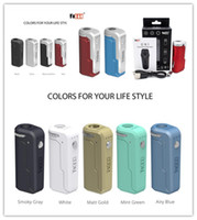 cigarros mods vv vw venda por atacado-Mais quente Yocan Uni Bateria Mod Mod 650mAh Tensão Ajustável e 10 s Preaqueça a Bateria para 6-12mm de Diâmetro de Óleo Grosso Vape Cartucho